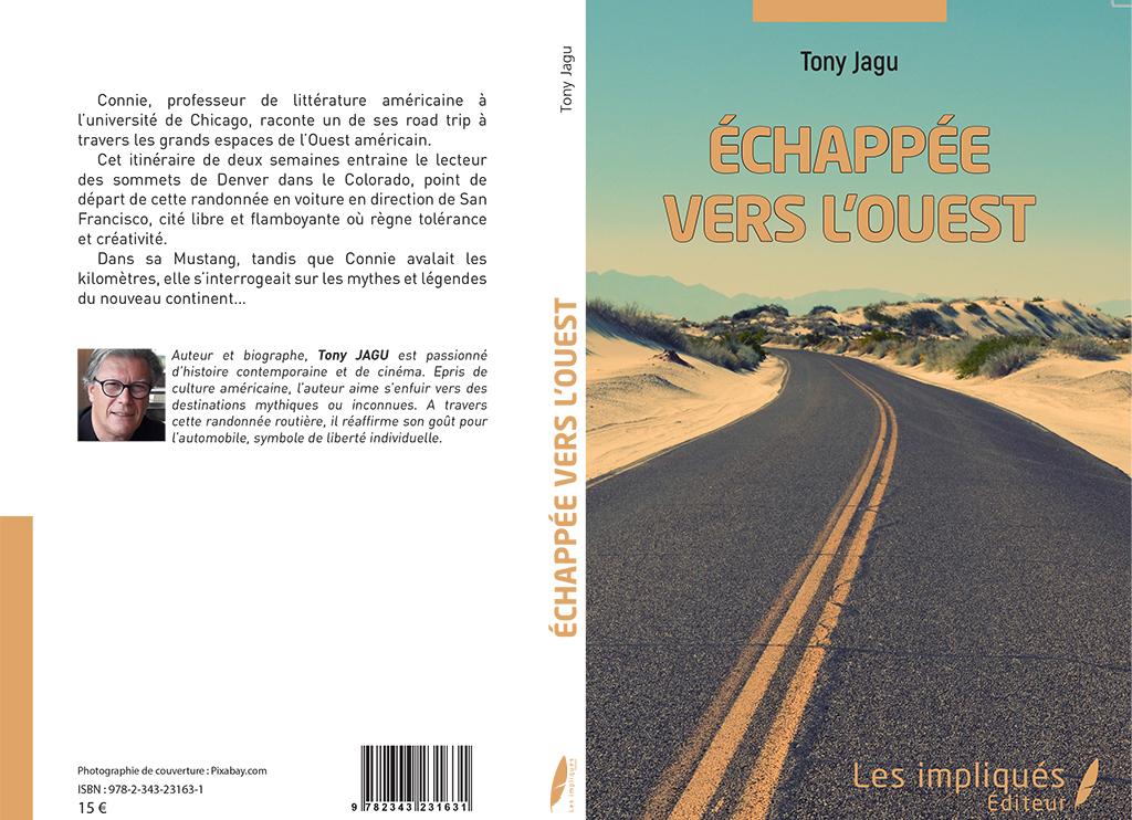 livre échappée vers l'ouest by tony jagu