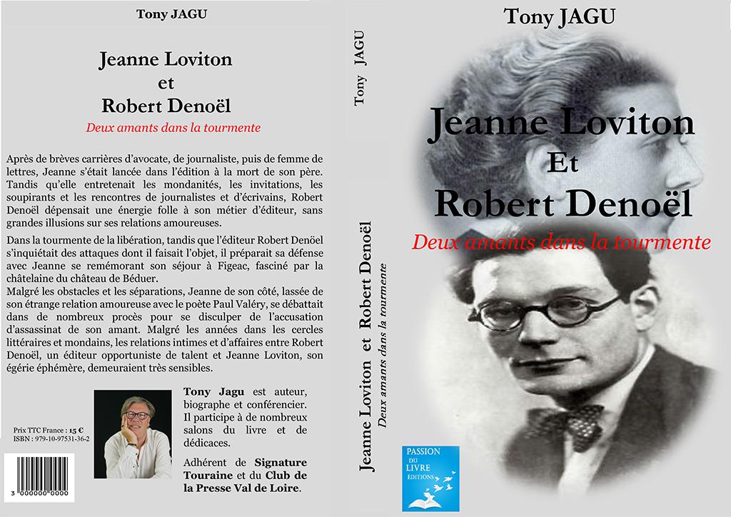 livre jeanne Loviton et Robert Denoël byTony Jagu